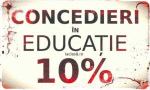 concedieri educatie, laclasă.ro, la clasă