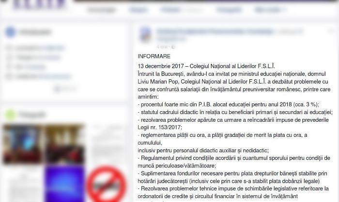 Informare probleme învățământ, laclasă.ro